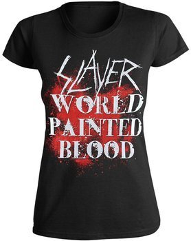 bluzka damska SLAYER - WORLD PAINTED BLOOD