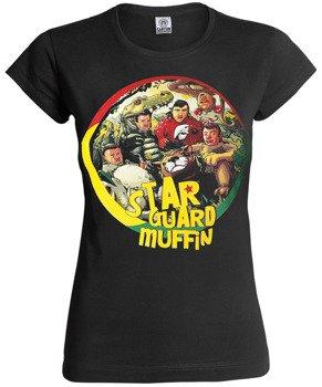 bluzka damska STAR GUARD MUFFIN - SZANUJ czarna