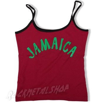 bluzka na ramiączka JAMAICA czerwona