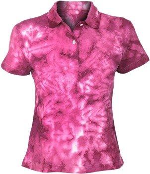 bluzka polo barwiona COLOR MIX