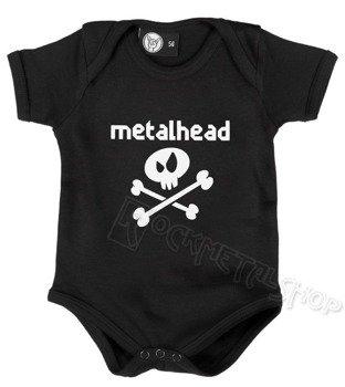 body dziecięce METALHEAD black