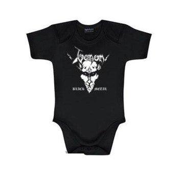 body dziecięce  VENOM - BLACK METAL  black / white
