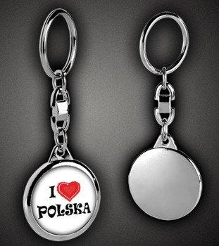 brelok I LOVE POLSKA