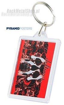 brelok do kluczy DEFTONES - RED ROSE (PK5231)
