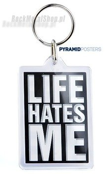 brelok do kluczy LIFE HATES ME (PK8139)