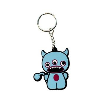 brelok gumowy FREAKS AND FRIENDS - 3 EYES FREAK KEYCHAIN RU