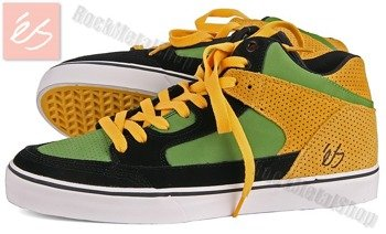 buty ES - ERVING (BLACK/GREEN/GOLD)