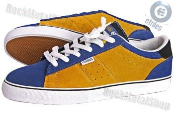 buty ETNIES - PERRO (NAVY/YELLOW/WHITE)