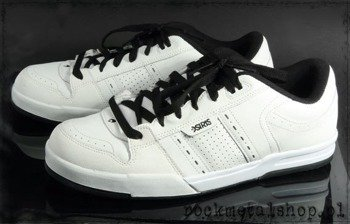 buty OSIRIS - VERTIGO white/black//red