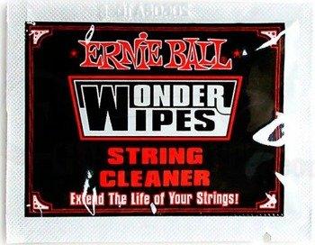 chusteczka do czyszczenia strun ERNIE BALL WONDER WIPES EB4249
