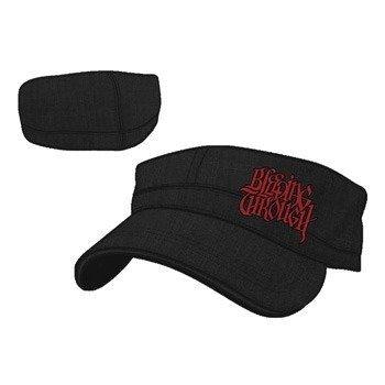 czapka BLEEDING THROUGH - BLACK/RED CADET
