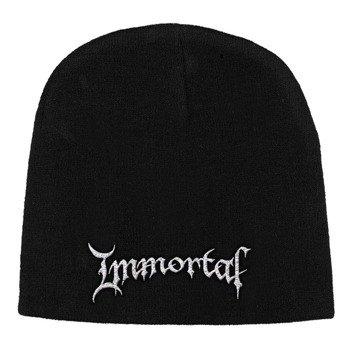 czapka IMMORTAL - LOGO, zimowa