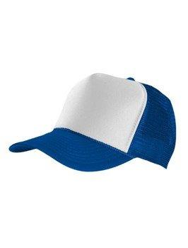 czapka MASTERDIS - BASEBALL CAP TRUCKER, royal/white