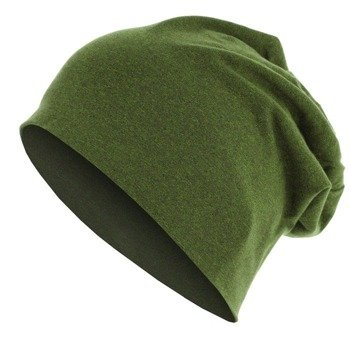czapka MASTERDIS - HEATHER JERSEY BEANIE lime