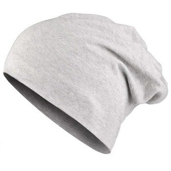 czapka MASTERDIS - JERSEY BEANIE heather grey