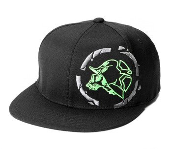 czapka METAL MULISHA - CLOBBER black/green