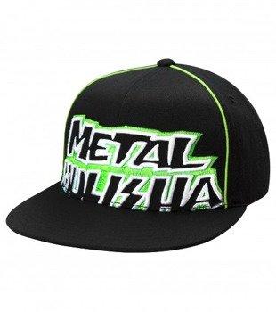 czapka METAL MULISHA - FRACTION GREEN
