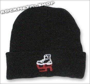 czapka SMASH NAZI czarna