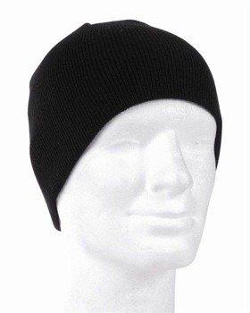czapka zimowa CZARNA