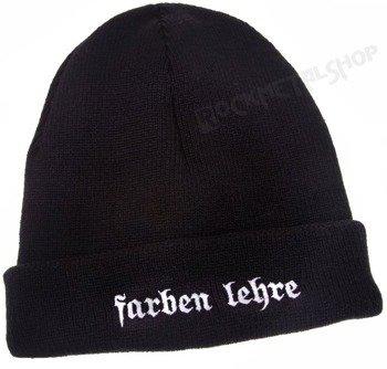 czapka zimowa FARBEN LEHRE - LOGO