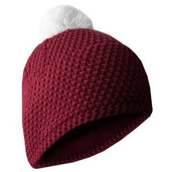 czapka zimowa MASTERDIS - BEANIE POLAR maroon/white