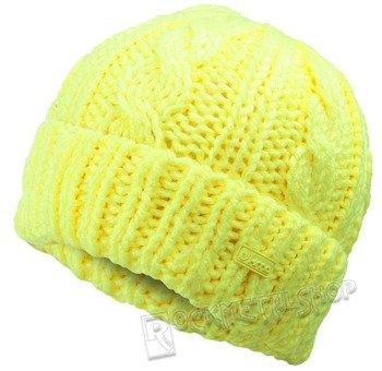 czapka zimowa MASTERDIS - KMA NEON YELLOW