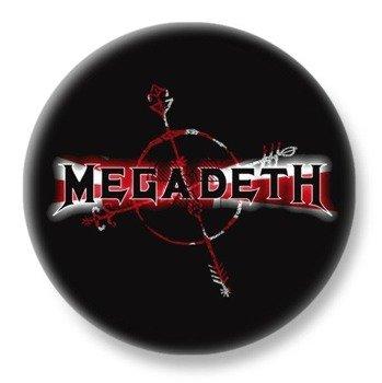 duży kapsel MEGADETH