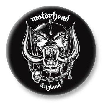 duży kapsel MOTORHEAD - ENGLAND
