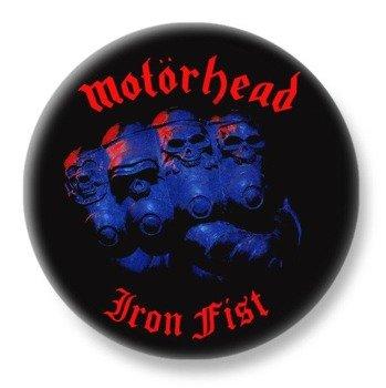 duży kapsel MOTORHEAD - IRON FIST