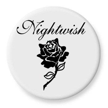 duży kapsel NIGHTWISH - LOGO biały