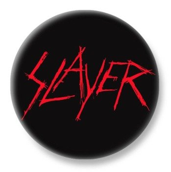 duży kapsel SLAYER - RED LOGO