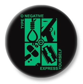 duży kapsel TYPE O NEGATIVE - EXPRESS YOURSELF