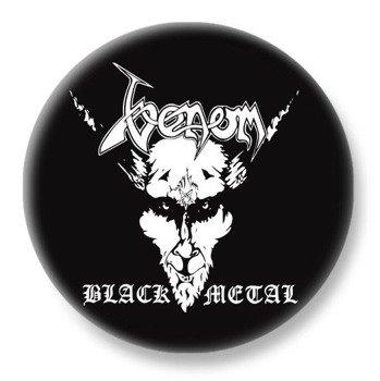 duży kapsel VENOM - BLACK METAL