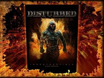 ekran DISTURBED - INDESTRUCTIBLE