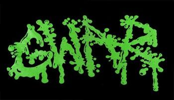 ekran GWAR - GREEN LOGO