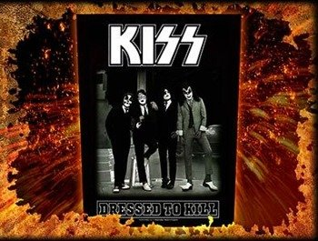 ekran KISS - DRESSED TO KILL