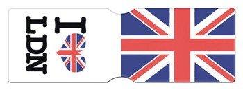 etui na kartę kredytową LONDON UNION FLAG