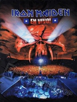 flaga IRON MAIDEN - EN VIVO