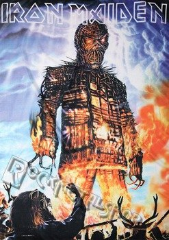 flaga IRON MAIDEN - WICKER MAN