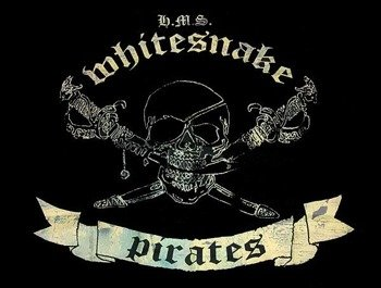 flaga WHITESNAKE - PIRATES