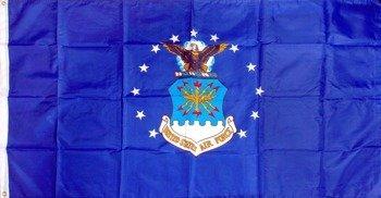 flaga duża UNITED STATES AIR FORCE firma SURPLUS