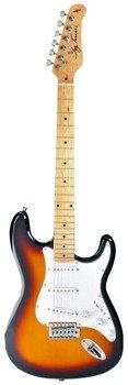 gitara elektryczna JAY TURSER JT-300M-TSB Sunburst