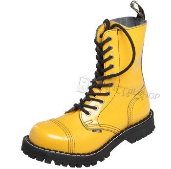 glany STEEL - FULL YELLOW (10 dziurek)