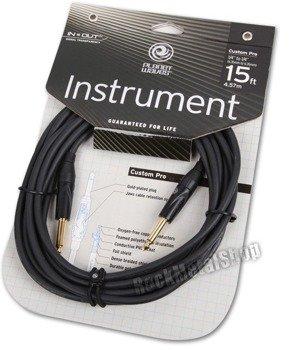 kabel gitarowy 4,57 m PLANET WAVES CUSTOM PRO jack prosty/prosty (PW-CPG-15)