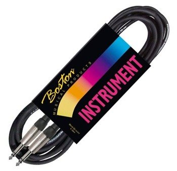 kabel instrumentalny BOSTON 1m JACK prosty/prosty 6,3mm STEREO