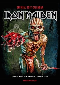 kalendarz IRON MAIDEN 2017 THE BOOK OF SOULS