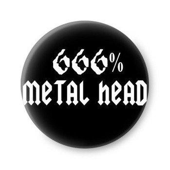 kapsel 666% METAL HEAD