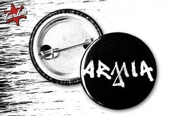 kapsel ARMIA - LOGO czarno-biały