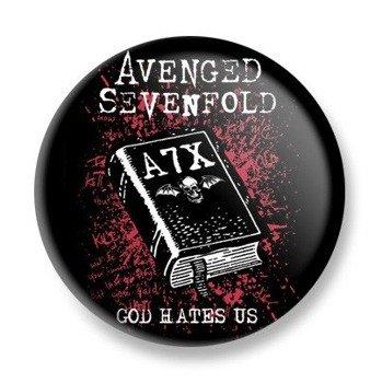 kapsel AVENGED SEVENFOLD - GOD HATES US
