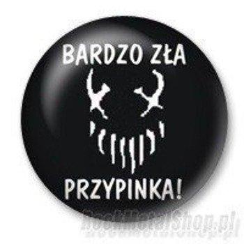 kapsel BARDZO ZŁA PRZYPINKA Ø25mm